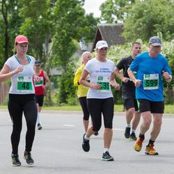 Narva Energiajooks - Marika Peterson (48), Uno Õunapuu (599), Gerly Vahe (635)