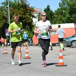 Narva Energiajooks - Annika Veimer (632), Raimo Selgis (672)
