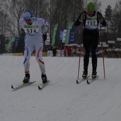 41. Tartu Maraton - David Berg (152), Gunnar Kruus (574)