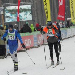 41. Tartu Maraton - Aadu Käärmann (2201), Tõnu Vahter (3208)
