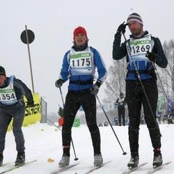 41. Tartu Maraton - Margus Sakk (1175), Alver Kivirüüt (1269), Rudolf Mürk (1354)