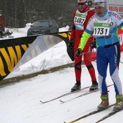 41. Tartu Maraton - Rait Lille (1731), Arne Kjell Arnsen (2482)