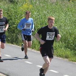 7. Kõva Mehe Jooks - Renno Rehtla (63), Joan Kangro (193), Olav Mõttus (200)