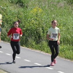7. Kõva Mehe Jooks - Helis Pajuste (97), Amanda Kaijanen (365)