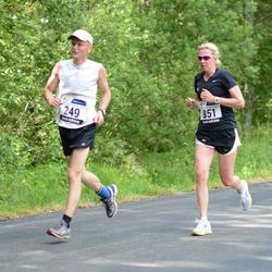 33. jooks ümber Pühajärve - Janek Jõgis (249), Jana Weinberg (851)