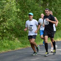 33. jooks ümber Pühajärve - Anton Adamenkov (275), August Käära (299)