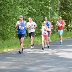 33. jooks ümber Pühajärve - Margo Engel (131), Maris Saar (322), Andre-Marek Piirsalu (332)