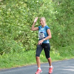 33. jooks ümber Pühajärve - Karin Kask (567)