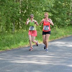 33. jooks ümber Pühajärve - Jelena Mäesalu (637), Merili Pukk (673)