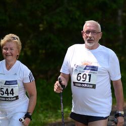 33. jooks ümber Pühajärve - Terje Heido-Rosenberg (544), Tiit Rosenberg (691)
