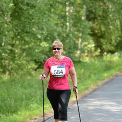 33. jooks ümber Pühajärve - Anu Kruusimägi (584)