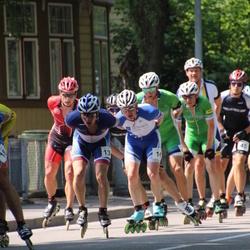 Pärnu Rullimaraton - Amper Savelyev (13), Toomas Prangli (16)
