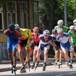Pärnu Rullimaraton - Amper Savelyev (13), Jaanus Ritson (18)