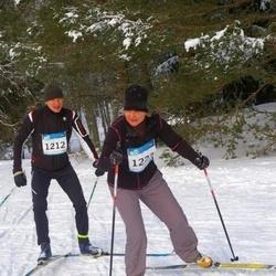 RMK Kõrvemaa Suusamaraton - Tiit Altmäe (1212), Annely Kubri (1223)