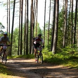 RMK Kõrvemaa Triatlon - Arlis Pipenberg (234), Meelis Kalda (236)