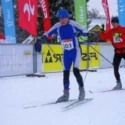 RMK Kõrvemaa Suusamaraton - Villu Eller (92), Agu Lehemaa (103)