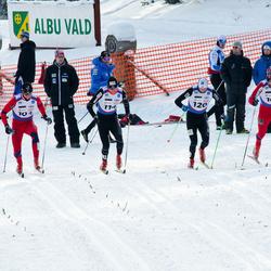 Skandinaavia karikavõistlus Valgehobusemäel - John Kristian Dahl (101), Paal Golberg (104), Andreas Myran Steen (111), Timo Andrei Bakken (114), Eirik Lorentsen (120)