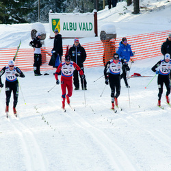 Skandinaavia karikavõistlus Valgehobusemäel - John Kristian Dahl (101), Paal Golberg (104), Andreas Myran Steen (111), Timo Andrei Bakken (114), Joergen Braathen (116), Eirik Lorentsen (120)
