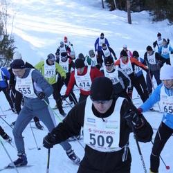 15. Tallinna Suusamaraton - Silver Salla (509), Varis Peisenieks (553), Andi Piliste (674)