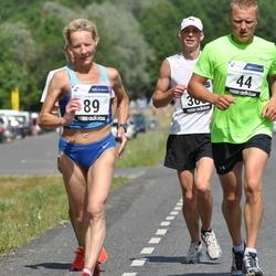 1. Suvejooks ümber Saadjärve - Ingo Miljan (44), Galina Bernat (89)