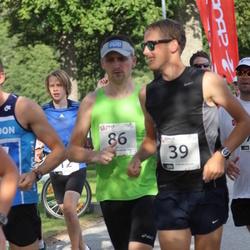 TriSmile Triatlon - SIS SmileRun - Silver Mikk (39), Vasyl Dizhak (86)