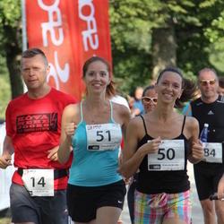 TriSmile Triatlon - SIS SmileRun - Valdo Jahilo (14), Svetlana Murashova (50), Olga Ostroukhova (51)
