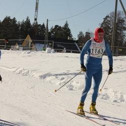 15. Tallinna Suusamaraton - Anita Homin (1057), Marko Saar (1163)