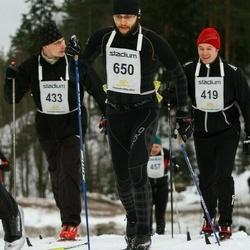 Finlandia-hiihto - Lauri Lavikka (419), Aki Tapanainen (433), Markus Mäkinen (650)