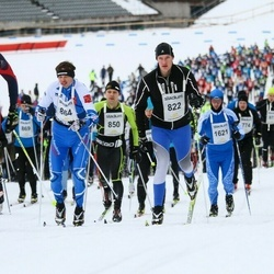 Finlandia-hiihto - Jaakko Kokkonen (822), Alexander Gavrilov (864)