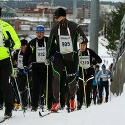 Finlandia-hiihto - Tapio Ojala (832), Tuukka Koski (905)