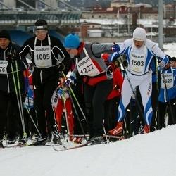 Finlandia-hiihto - Matti Koivula (1005), Gabriella Massazza (1227), Juha Mäkikuutti (1476), Mati Kalvet (1503)