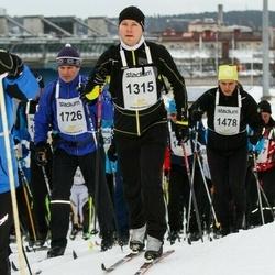 Finlandia-hiihto - Tapio Kettunen (1315), Marko Mustonen (1478), Harri Lunden (1726)