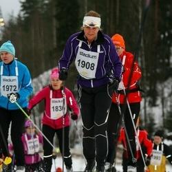 Finlandia-hiihto - Angelika Ronge (1908)