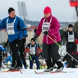 Finlandia-hiihto - Sirpa Velin-Ängeslevä (2088), Tuomas Mantere (2550)
