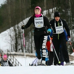 Finlandia-hiihto - Timo Haapalahti (2515), Adelina Leino (2528)