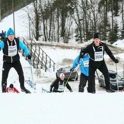 Finlandia-hiihto - Juho Kinnunen (2530), Erkki Oksanen (2821)