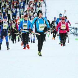 Finlandia-hiihto - Risto Aaltonen (5111), Olga Vashchilko (5467), Kimmo Kurki (5506)