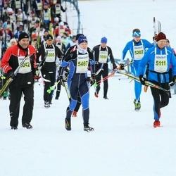 Finlandia-hiihto - Mauri Jussinmäki (5042), Risto Aaltonen (5111), Topias Rauhamaa (5202), Olga Vashchilko (5467)