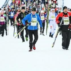 Finlandia-hiihto - Jouni Aittokoski (5011), Mauri Jussinmäki (5042)