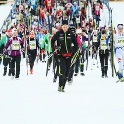 Finlandia-hiihto - Johanna Uusi-Uitto (5001), Kirsi Joensuu (5418)