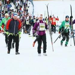 Finlandia-hiihto - Johanna Uusi-Uitto (5001), Kaarina Niemi (5181)