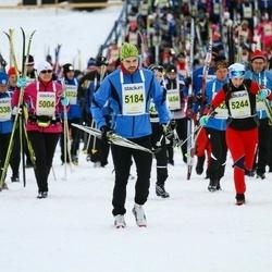 Finlandia-hiihto - Antti Lehtimäki (5184), Emma Halla-Aho (5244)