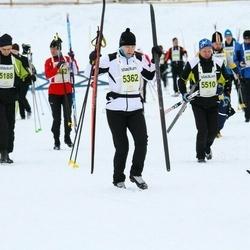 Finlandia-hiihto - Jaana Pohjonen (5362), Petri Julin (5510)