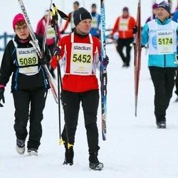 Finlandia-hiihto - Pirkko Mustonen (5089), Eija Ylinen (5452)