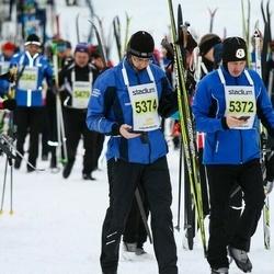 Finlandia-hiihto - Janne Lempinen (5372), Marko Jormalainen (5374)