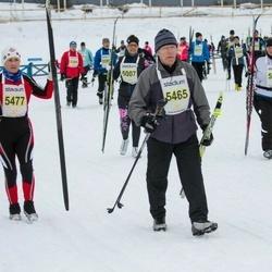 Finlandia-hiihto - Cinzia Friz (5008), Raimo Seppälä (5465), Liudmila Kolobanova (5477)