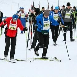 Finlandia-hiihto - Reeta Stöd (5177), Antti Ahonen (5385), Eeva Ahonen (5386)