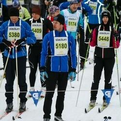Finlandia-hiihto - Jari Mikkelä (5180), Vesa Parikka (5380), Satu Vaarula (5448)