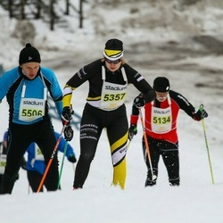 Finlandia-hiihto - Enna Huuskonen (5357), Kimmo Kurki (5506)