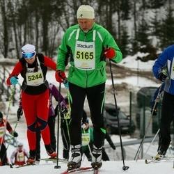 Finlandia-hiihto - Mario Fennert (5165), Emma Halla-Aho (5244)